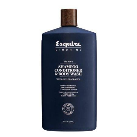 Esquire Grooming, 3w1: szampon, odżywka, żel, 414ml