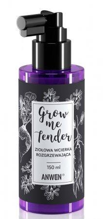 Anwen Grow Me Tender, ziołowa wcierka pobudzająca wzrost włosów, 150ml