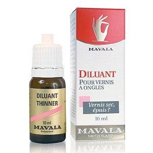 Mavala Thinner, rozcienczalnik do lakieru do paznokci, 10 ml