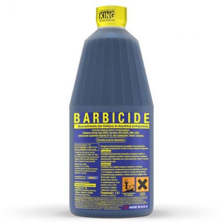 Barbicide, koncentrat do dezynfekcji narzędzi i akcesoriów, 1900ml