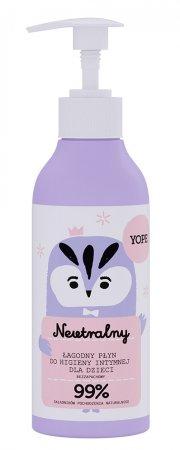 Yope, łagodny żel do higieny intymnej dla dzieci, neutralny, 300ml
