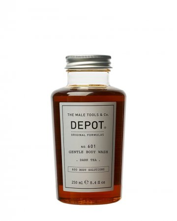 Depot No. 601, delikatny żel do mycia ciała, Dark Tea, 250ml