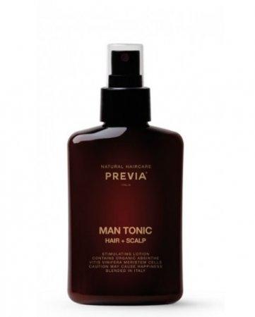 Previa Man, tonik stymulujący do włosów i skóry głowy, 150ml