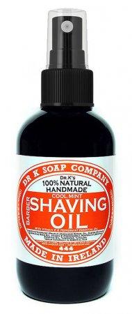 Dr K Soap Company, męski olejek do golenia, 100ml