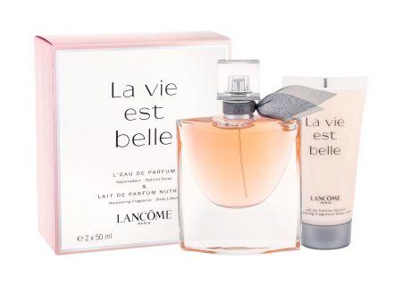 Lancôme La Vie Est Belle, zestaw: Edp 50ml + 50ml Body lotion (W)