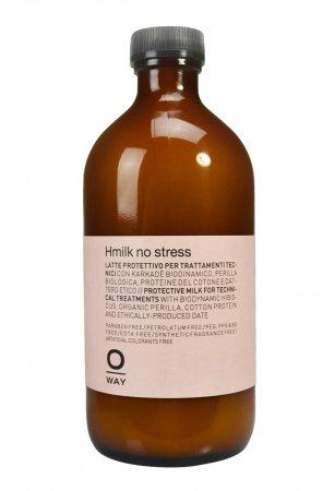 OWay Hmilk no stress, mleczko odbudowujące wiązania dwusiarczkowe, 500ml