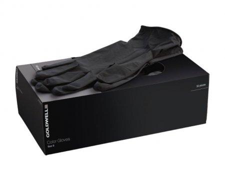 Goldwell rękawiczki lateksowe, bez pudru, rozmiar M, 50 szt.