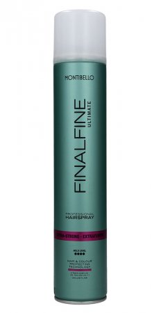 Montibello Finalfine Ultimate, lakier do włosów extra strong, 500ml