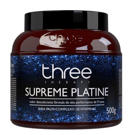 Three Therapy, rozjaśniacz do wszystkich technik rozjaśniania, 500g