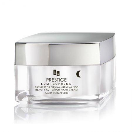 AA Prestige Lumi Supreme, krem na noc, aktywator piękna, 50 ml