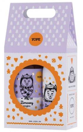 Yope, Zimowy Rarytas, zestaw prezentowy, mydło 500ml + balsam 300ml