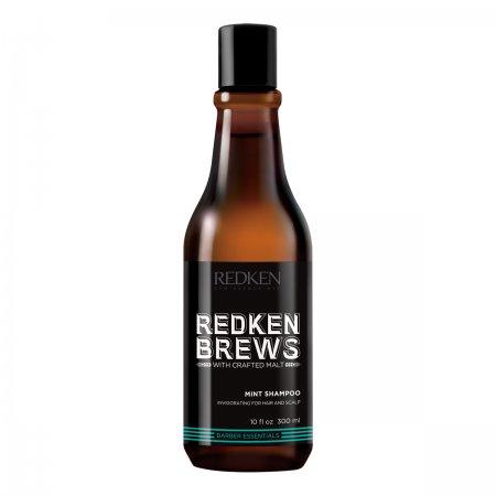 Redken Brews, miętowy szampon dla mężczyzn, 300ml