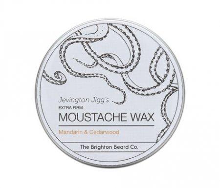 Brighton Beard, wosk do wąsów Mandarynka i Drzewo cedrowe, 30ml