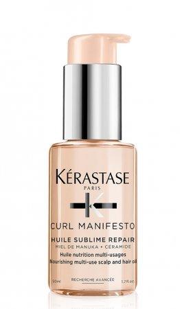 Kerastase Curl Manifesto, wielofunkcyjny olejek do loków, 50ml