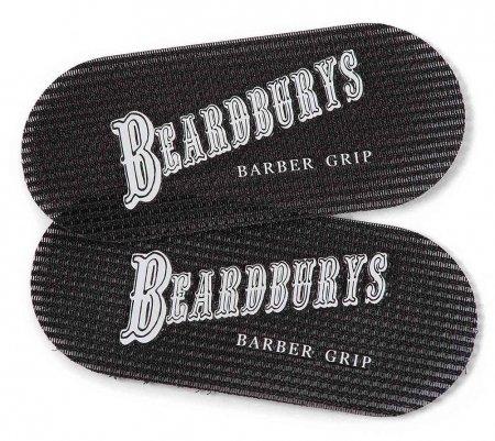 Beardburys, rzepy do włosów barberskie, 2 szt.