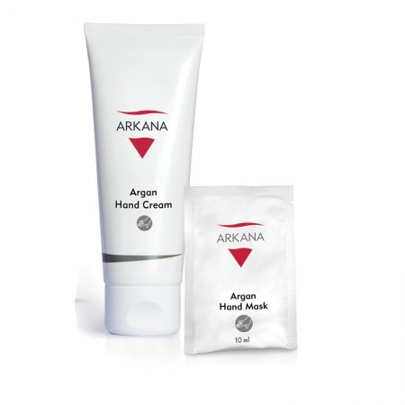 Arkana Argan Hand Cream, arganowy krem do dłoni, 75ml