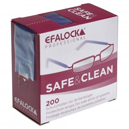 Ochraniacze na okulary, niezbędne przy zabiegach koloryzacji Efalock, 200 szt.- uszkodzone opakowanie