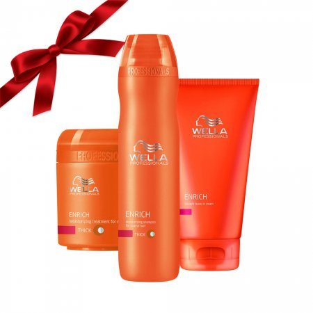 Prezent: zestaw Wella do pielęgnacji włosów suchych, grubych i puszących