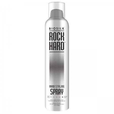 Biosilk Rock Hard, bardzo mocny lakier do włosów, 295ml