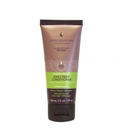 Macadamia Professional Vege, nawilżająca odżywka do włosów normalnych, 59ml
