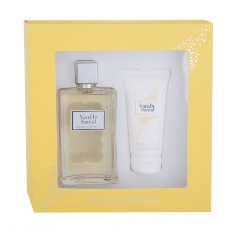 Reminiscence Vanille Santal, zestaw: Edt 100 ml + Mleczko do ciała 75 ml (W)
