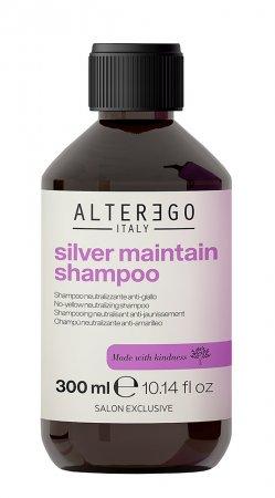 Alter Ego Silver Maintain, szampon neutralizujący żółte odcienie, 300ml