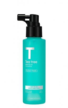 Holika Holika Tea Tree, tonik do tłustej i podrażnionej skóry głowy, 100ml