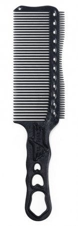 Y.S. Park, grzebień do strzyżenia męskich włosów, model s282T, czarny