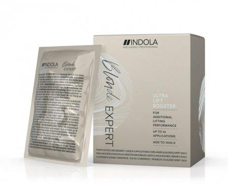 Indola Blonde Expert Ultra Lift, booster rozjaśniający, 10x10g