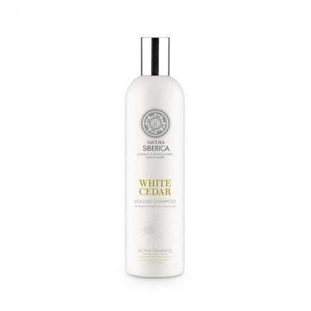 Natura Siberica White Cedar, szampon zwiększający objętość, 400ml