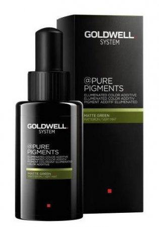 Goldwell Pure Pigments, pigment do koloryzacji, Matte Green, 50ml
