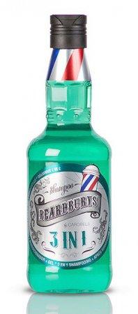 Beardburys, szampon do włosów i ciała 3w1, 330ml