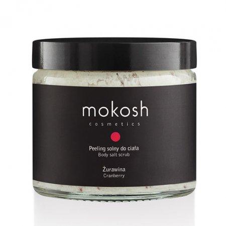 Mokosh, peeling solny do ciała, żurawina, 300g