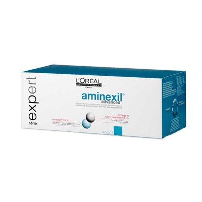 Loreal Aminexil Advanced, kuracja przeciw wypadaniu włosów w ampułkach 42x6ml