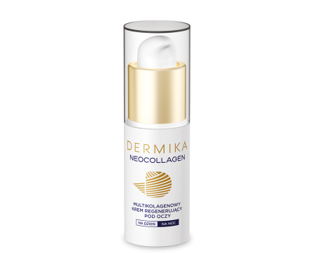 Dermika Neocollagen, multikolagenowy krem regenerujący pod oczy, 15ml