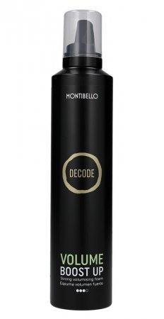 Montibello Decode, mocna pianka nadająca objętość Volume Boost Up, 300ml