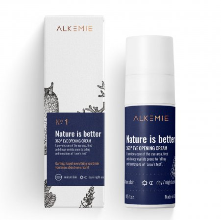 Alkmie Nature is better than..., krem na okolice oczu, 15ml