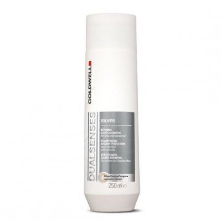 Goldwell Dualsenses Silver, szampon do włosów blond i siwych, 250ml