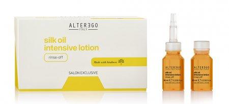 Alter Ego Silk Oil, intensywna kuracja odżywiająca, 12x10ml