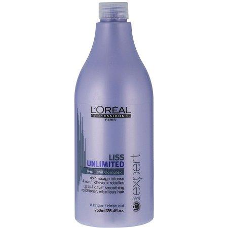 Loreal Liss Unlimited, odżywka wygładzająca włosy niezdyscyplinowane, 750ml