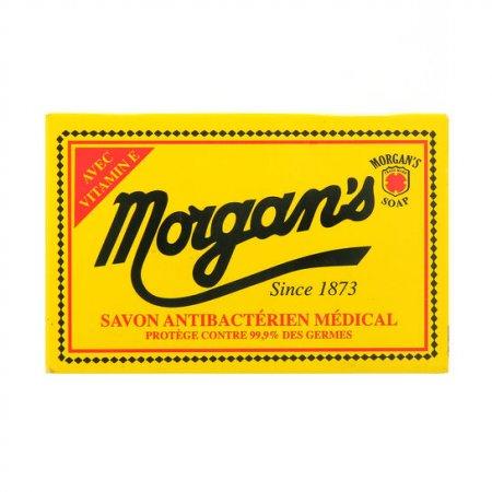 Morgan's, antybakteryjne mydło do brody w kostce, 80g