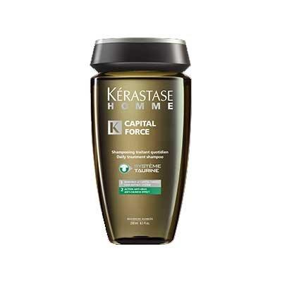 Kerastase Homme, szampon, kąpiel do włosów przetłuszczających się, 250ml