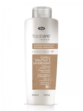 Lisap Top Care Elixir, szampon rozświetlający, 500ml