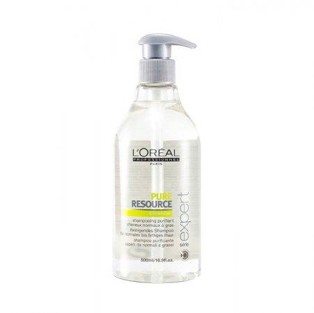 Loreal Expert Hydra Scalp Pure Resource, szampon oczyszczający, 500ml