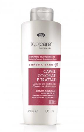 Lisap Top Care Chroma, szampon do włosów farbowanych, 250ml