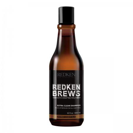 Redken Brews, szampon dla mężczyzn do włosów przetłuszczających się, 300ml