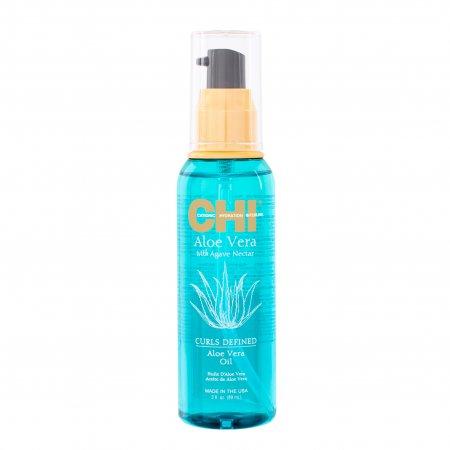 CHI Aloe Vera, olejek do włosów kręconych, 89ml