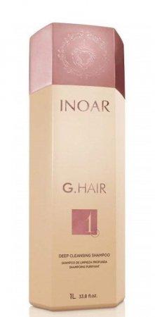 INOAR G-Hair, szampon do kuracji keratynowej, 1000ml