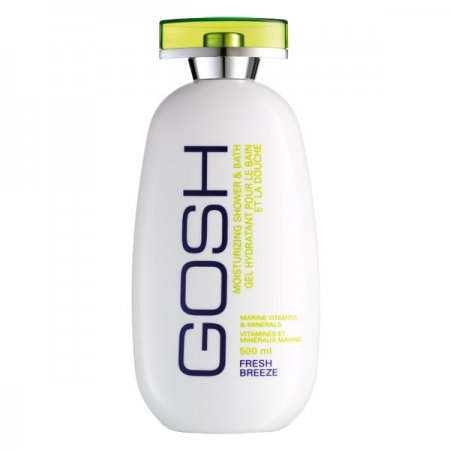 Gosh Fresh Breeze, żel pod prysznic i do kąpieli, 500ml