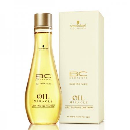 Schwarzkopf BC Oil Miracle, olejek pielęgnacyjny do włosów cienkich, 100ml